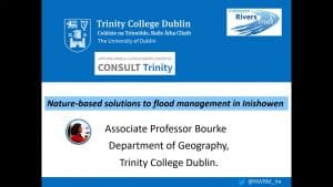 Nature Based Solutions to Flood Management in Inishowen